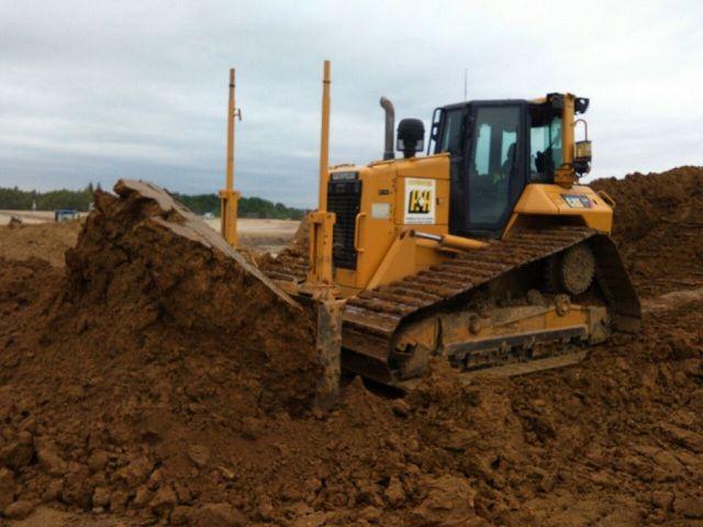 Caterpillar D6N LGP 17,3 ton / 152 pk