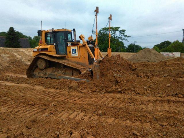 Caterpillar D6R II LGP 23 ton / 190 pk